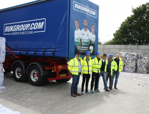 THE NEW SAINTS FOOTBALL CLUB COME TO SEE OUR NEW BRANDED TRUCKS!